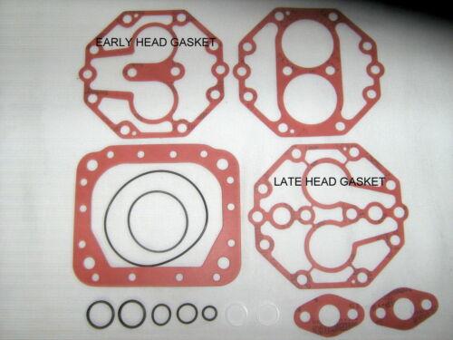 YORK 210 209 A//C COMPRESSOR GASKET KIT W//FIBER GASKETS AMC//FORD//MERCEDES
