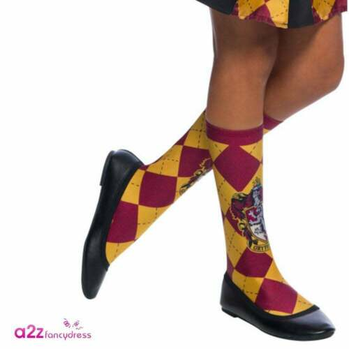 Harry Potter Hermione Granger Gryffindor Socks Hogwarts Fancy Dress Accessory