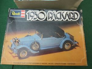 REVELL 1977 DATATO 1930 Packard Kit Modellino in scala 1/48