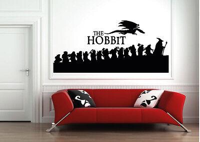 Wall art sticker Hobbit/lotr/dvd/smaug/book/sticker/xbox/ps3/toy/wall sticker