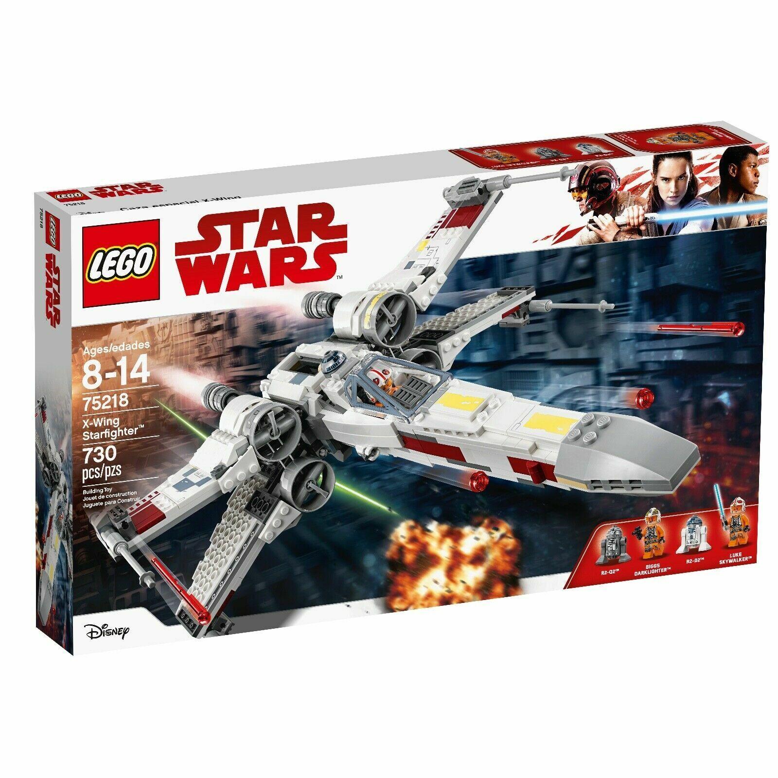 nuovo LEGO  estrella guerras X-Wing estrellacombatiente 75218 730 Pieces  centro commerciale di moda