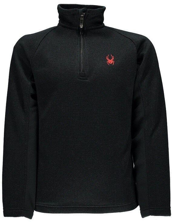 Spyder Boy's Outbound Half Zip Mid Weight Core Sweater