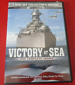 DVD-Movie-Victory-at-Sea-The-Complete-Series-3-Disc-Set-26-Episodes