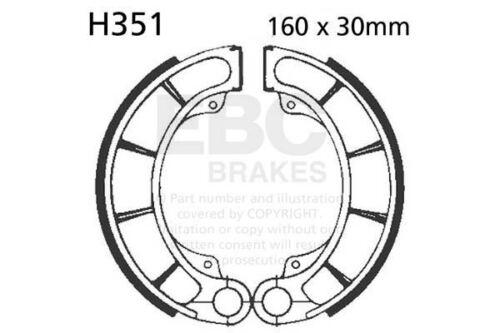 FIT HONDA PS 250 5//6 Big Ruckus 05/>06 EBC Plain Shoe Rear Right