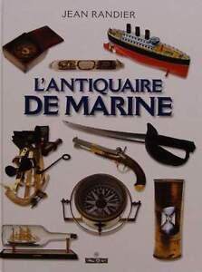 French Book antique,antiques,maritime,nautical L'antiquaire De Marine