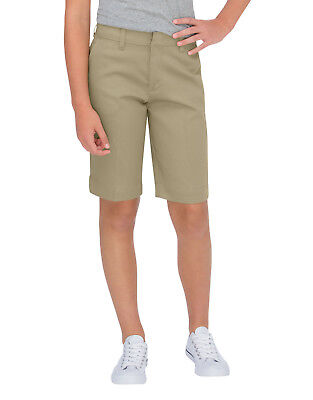 Dickies Junior Black Tomboy Short Classic Stretch 4 Pocket Mid Rise Size 0 to 15