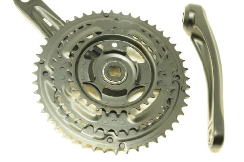 SHIMANO ALTUS FC-M311 TRIPLE 28//38//48 CHAINWHEEL SET 170mm 7 or 8 SPEED