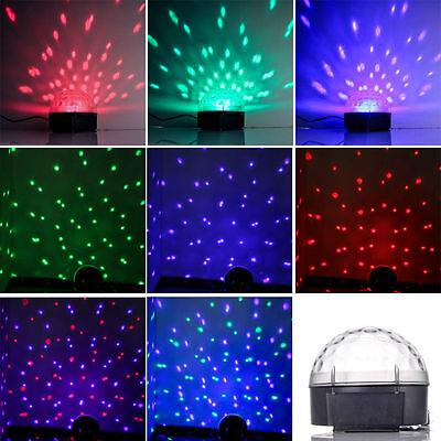 2x Disco Kugel LED Bühnen Lichteffekt Party Belechtung Lampe DJ Stage Show Laser