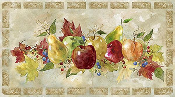 Carol Robinson Venetian Fruit Keilrahmen-Bild Leinwand Früchte Obst Küche Shabby