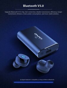 ad4abf8a7b4 AWEI newest TWS T85 true wireless earphones with charging case 100 ...