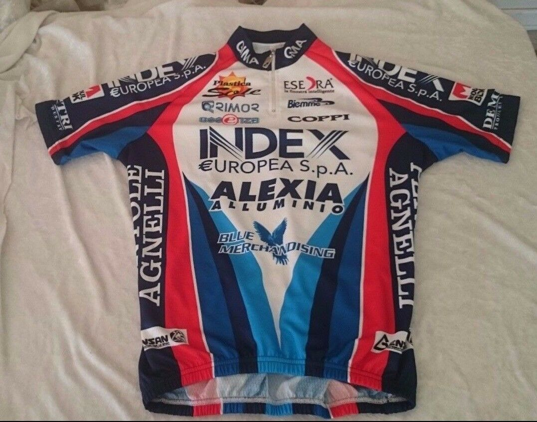 Biking Cycling Cycle Jersey Shirt Biemme GIMA Index Alexia Coppi Sole Rimor