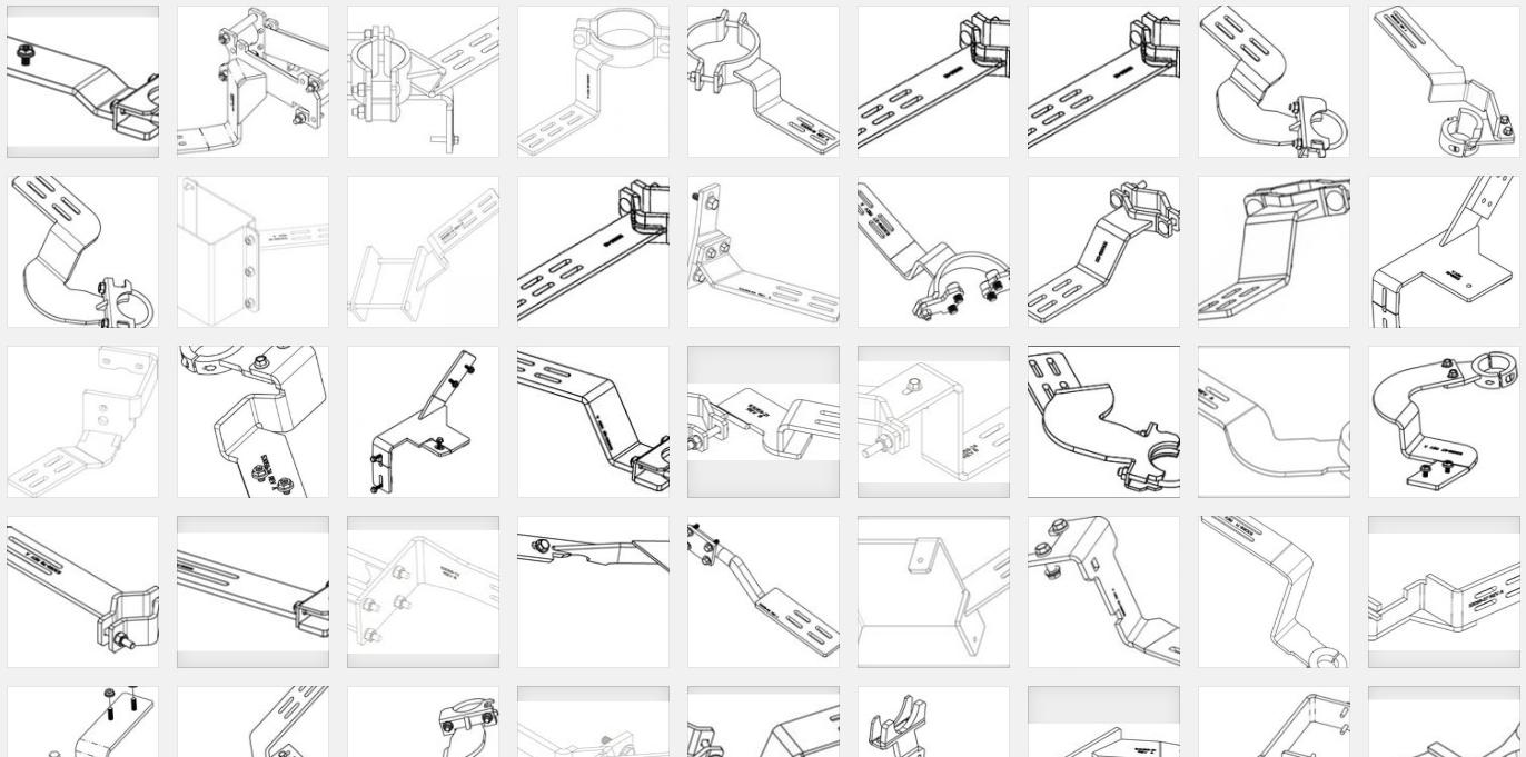 TRIMBLE EZ-Steer Brackets For Specific Vehicles  BRAND NEW