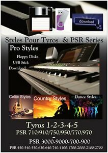 Details about Styles Tyros & PSR YAMAHA *CELTIC - COUNTRY - DANCE*Styles  USB Stick / Download