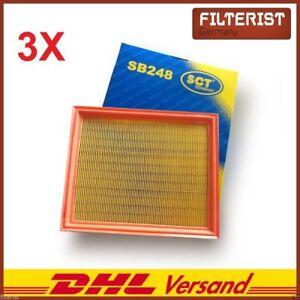 3x-filtro-de-aire-VW-Golf-III-1-4-1-6-1-8-1-9-TD-TDI-SDI-2-0-2-8-2-9-vr6-vento