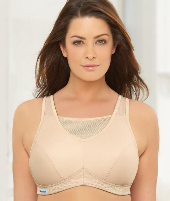 c52732bd30 Glamorise Active Sports Bra Cafe 34 D for sale online
