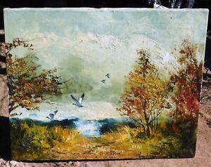 Prescott-signed-oil-canvas-20-x-24-mystery-artist