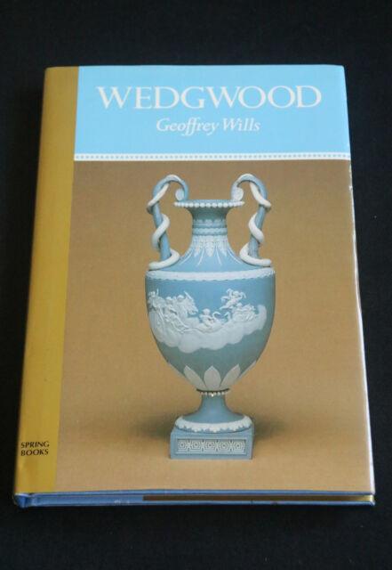 Geoffrey Wills - Wedgwood HC/DJ history of british pottery maker