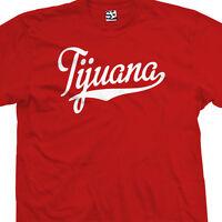 Tijuana Script Tail T-shirt - Tj All Star Sports Team Jersey - All Size & Colors