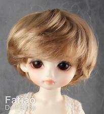 "Fatiao - New Yo-SD 1/6 BJD Dollfie Dolls Wig 6-7"" - Baby Brown color"