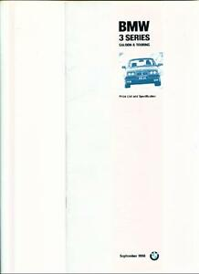 BMW-3-SERIES-SALOON-TOURING-E36-PRICE-LIST-BROCHURE-SEPTEMBER-1996