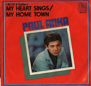 PAUL-ANKA-MY-HOME-TOWN-All-Of-A-Sudden-MY-HEART-SINGS-Eric-Records-1958