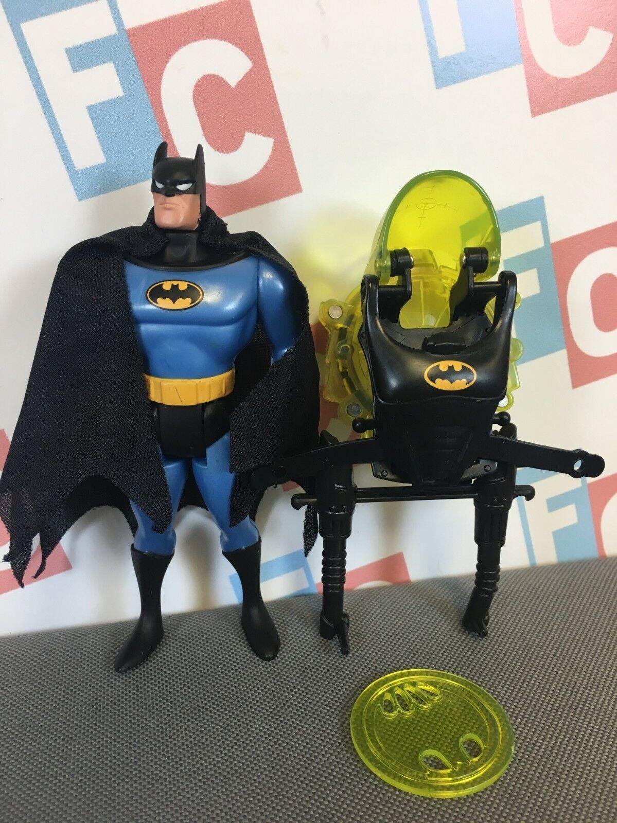 Kenner 1996 DC Animated Adventures of Batuomo e Robin Batuomo Mailaway cifra