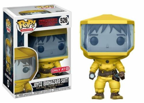 STRANGER THINGS Figurine JOYCE BIOHAZARD SUIT N° 526  POP FUNKO