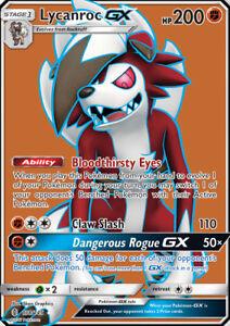 Pokemon-Card-Lycanroc-GX-138-145-Full-Art-Ultra-Rare-Sun-amp-Moon