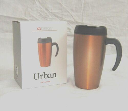 XD Design XDP432008 Urban Mug Thermobecher auslaufsicher Farbton Kupfer