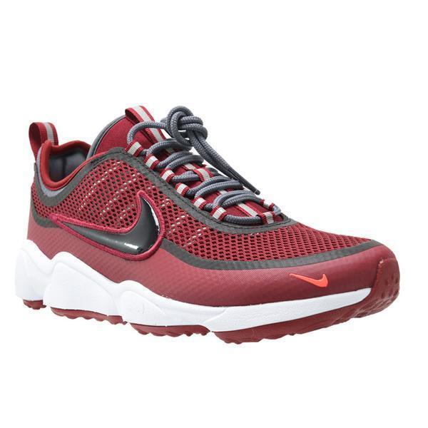 Hommes Nike Zoom Spiridon Athletic Fashion Sneakers 876267 600 Team rouge / Noir