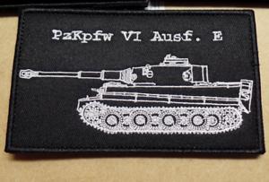 German-WW2-Panzer-kampfwagen-VI-Tiger-I-Tactical-Combat-Morale-Hook-amp-Loop-Patch