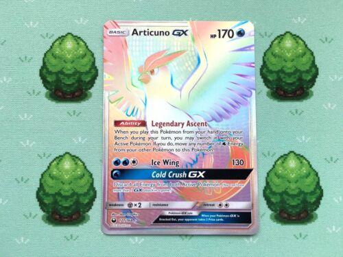 Articuno GX Pokemon 171//168 Secret Rare SM Celestial Storm