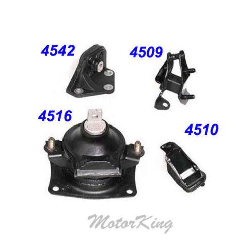 For 03-07 Honda Accord 2.4L Motor /& Trans M432 Mount Set 4PCS for Auto Trans