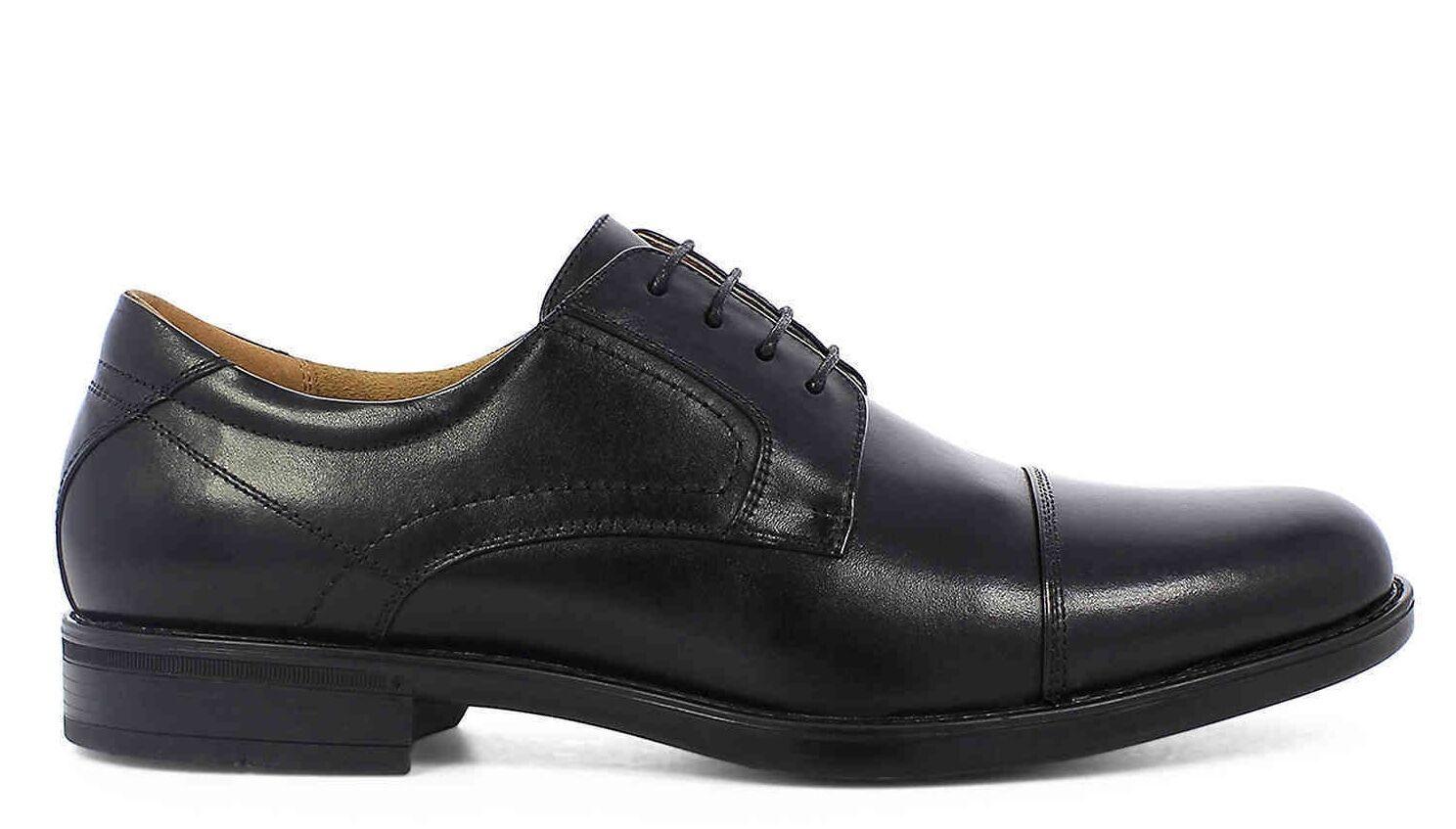 Florsheim Mens Midtown Cap Toe Black Mens Florsheim Oxford Shoes [12138 001] e4194a