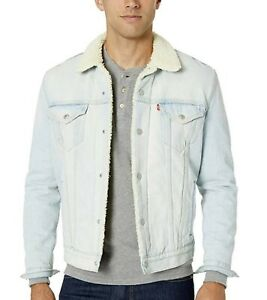 Levis-Mens-Sherpa-Trucker-Jacket-Fauxnaise-Regular-Fit-Light-Blue-163650109