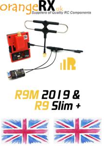 FrSky-R9M2019-Module-Super-8-Antenna-R9slim-Receiver-Mounted-T-Antenna-FPV-UK