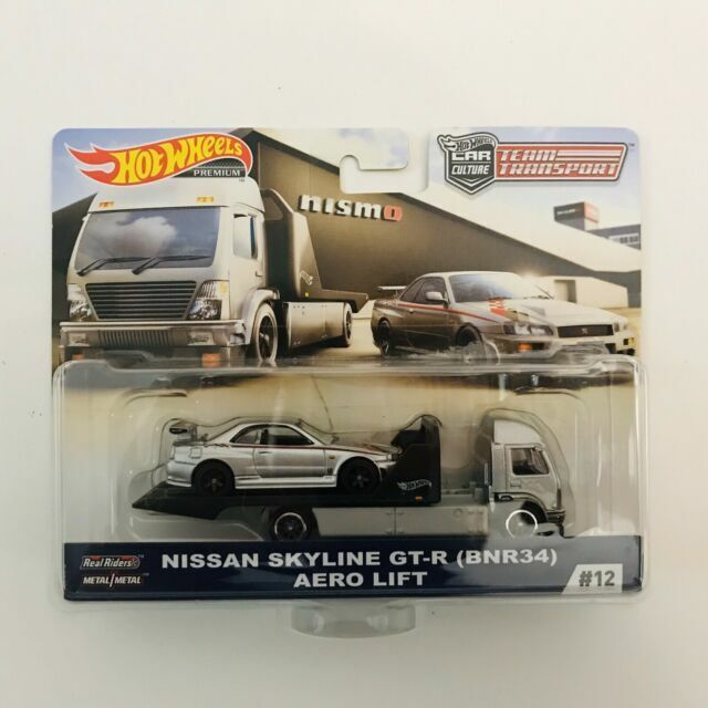 Equipo de transporte fyt10 Car Culture nissan fair lady Z Sakura sprinter 1:64 Hot whee