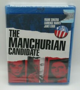 THE MANCHURIAN CANDIDATE BLU-RAY MOVIE, FRANK SINATRA, LAURENCE HARVEY, JANET L.
