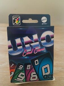 UNO Iconic 1980's Retro 50th Ann. 80's #2 Of 5 In Series Special Edition NEW