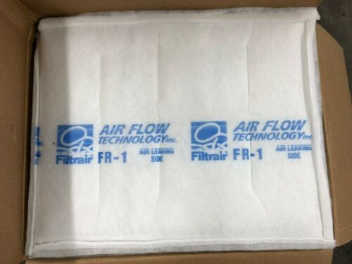 Filtra FR-1 Spray Paint Booth Ceiling Filter 20x25  Intake or Diffusion