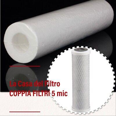 10x carbone attivo prima blocco FILTRO 10 pollici filtro acqua osmosi impianto osmosi inversa