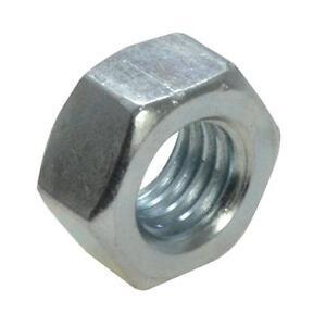 Qty-2-Hex-Standard-Nut-M8-8mm-Zinc-Plated-High-Tensile-Class-8-Full-ZP