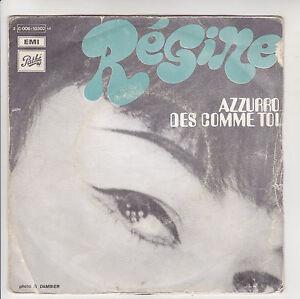 REGINE-Vinyle-45T-7-034-AZZURRO-DES-COMME-TOI-JukeBox-PATHE-10302-RARE-F-Reduit