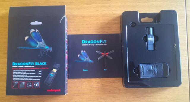 Audioquest DragonFly Black v1.5 Portable USB DAC Preamp Headphone Amplifier