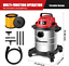 thumbnail 8 - Vacmaster Red Edition VOC508S 1101 Stainless Steel Wet Dry Shop Vacuum 5 Gallon