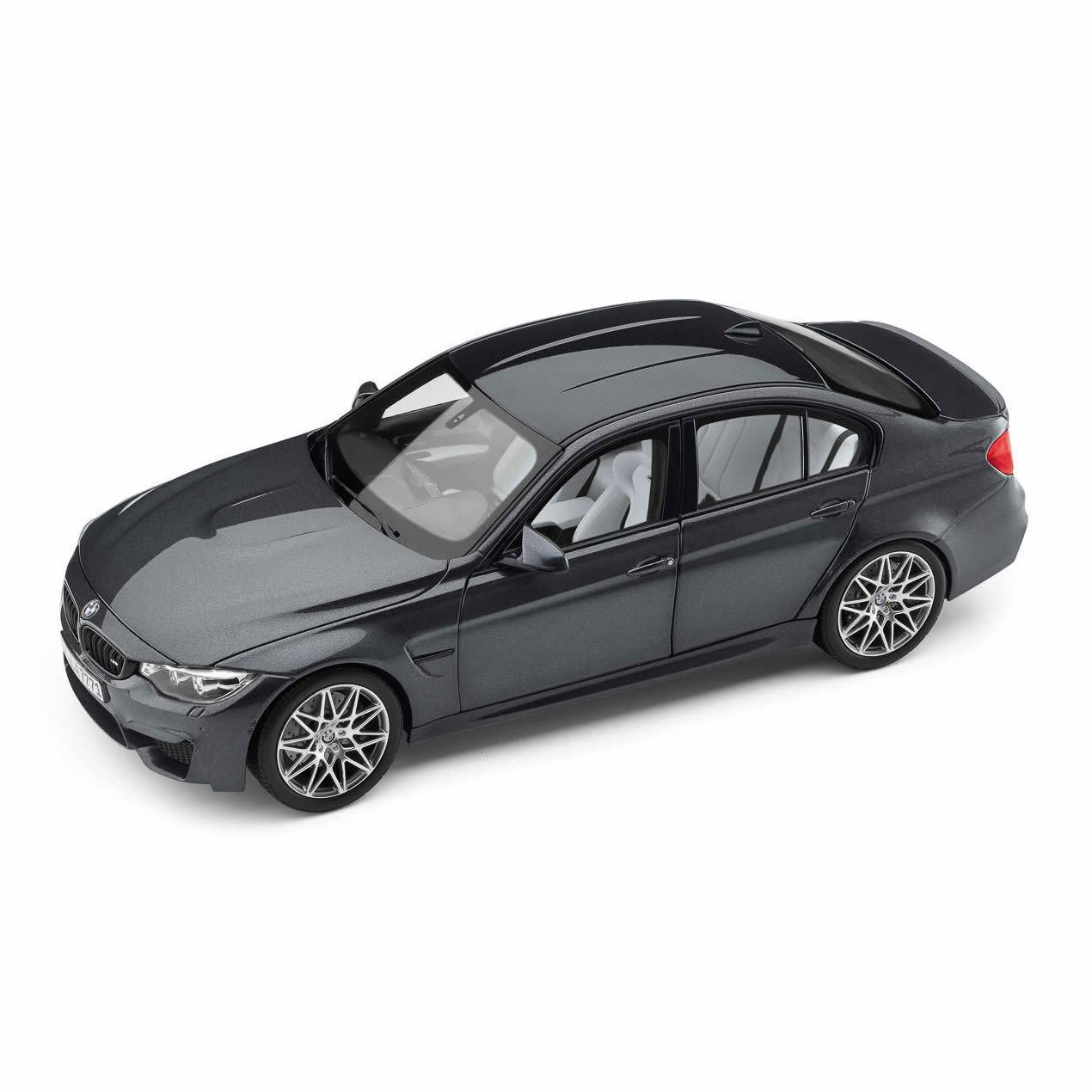 Original Miniatura BMW M3 (F80) 1 18 grigio Modelo Coleccionista Nuevo 80432411554