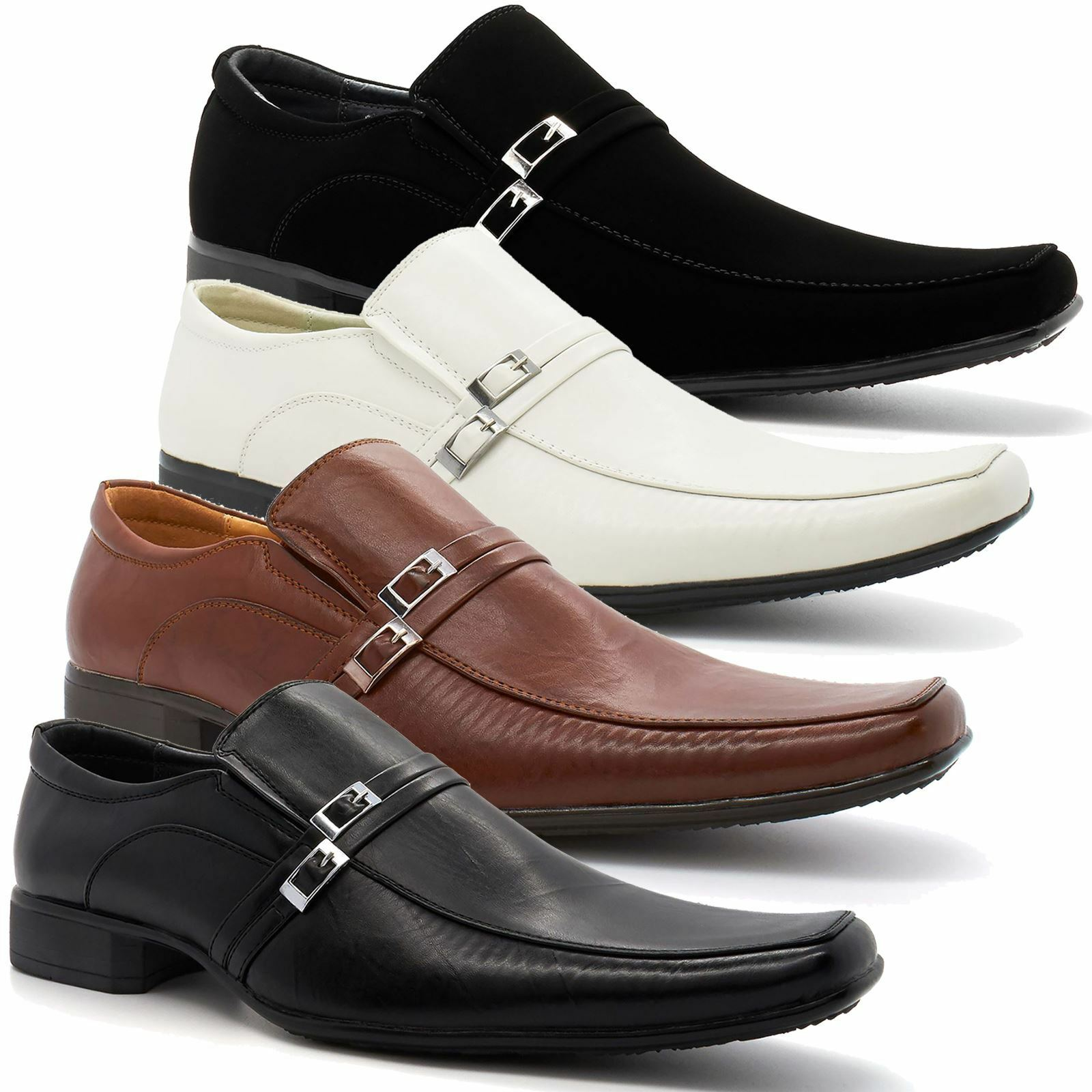 Man/Woman New Mens Formal Italian Style Wedding Office Slip On Shoes Smart Office Wedding UK Sizes 6-11 Great variety Fast delivery Exquisite (processing) processing VW452 b8819b