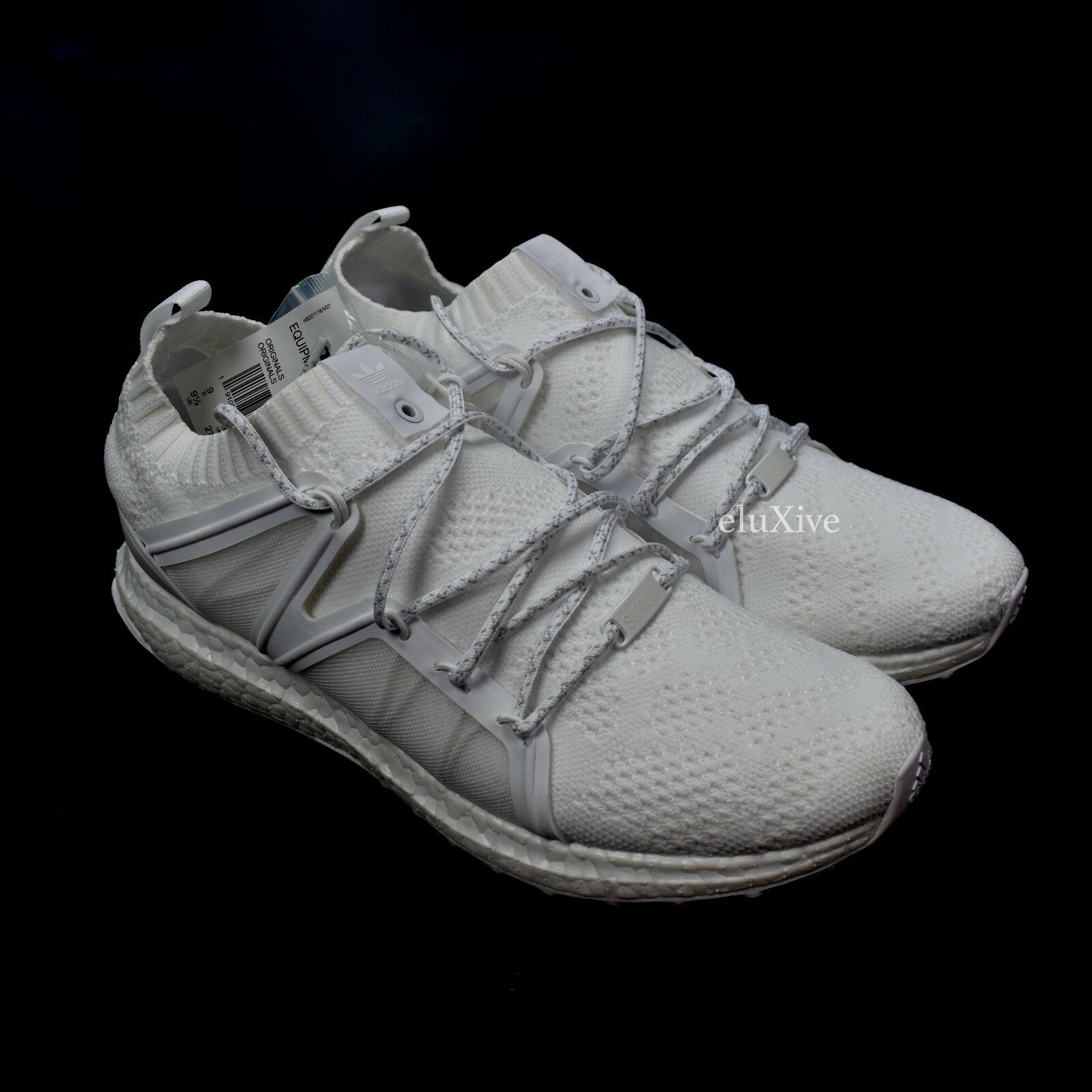NWT Adidas Bait Men's Equipment Support 93/16 Triple White Ultra Boost AUTHENTIC