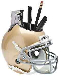 NOTRE-DAME-FIGHTING-IRISH-Football-Helmet-DESK-ORGANIZER-Office-Supply-CADDY