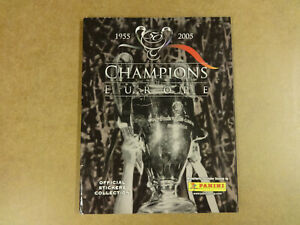 OFFICIAL-STICKER-ALBUM-PANINI-COMPLETE-50-YEARS-CHAMPIONS-OF-EUROPE-1955-2005